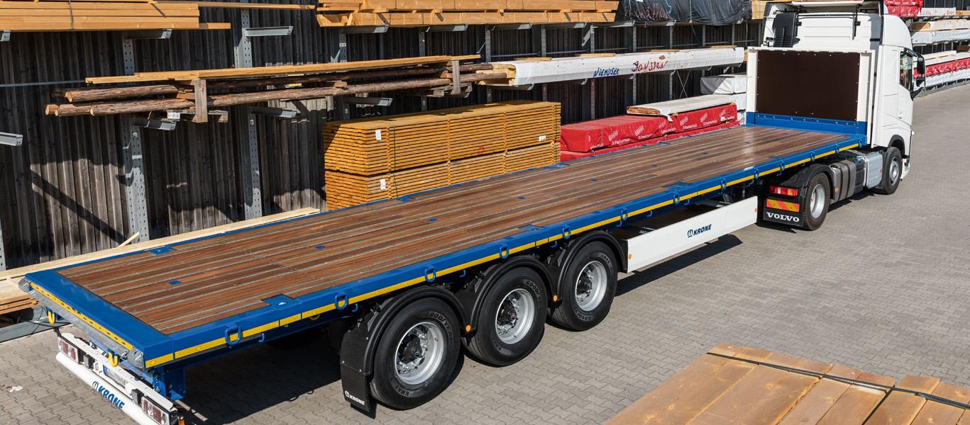 Услуги безбортовой платформы, 20 тонн