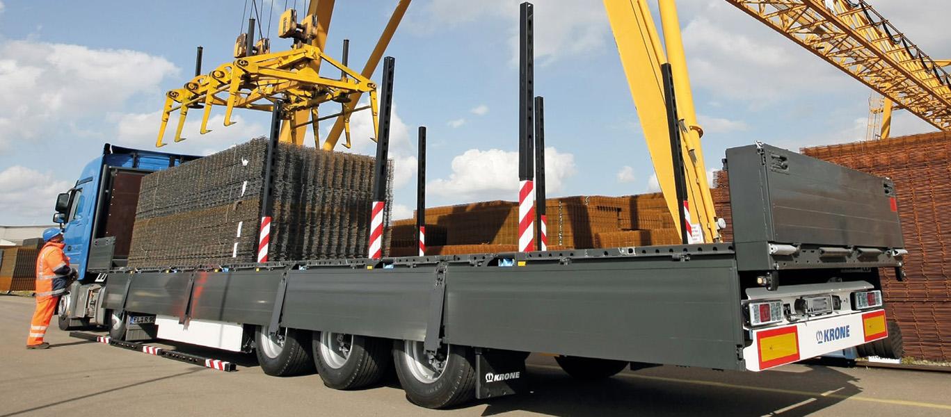 Услуги бортовой шаланды с кониками, 20 тонн
