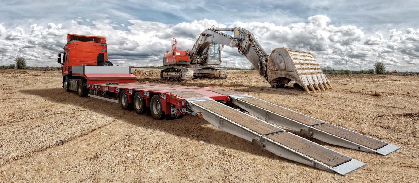 Грузоперевозки тралом, 50 тонн