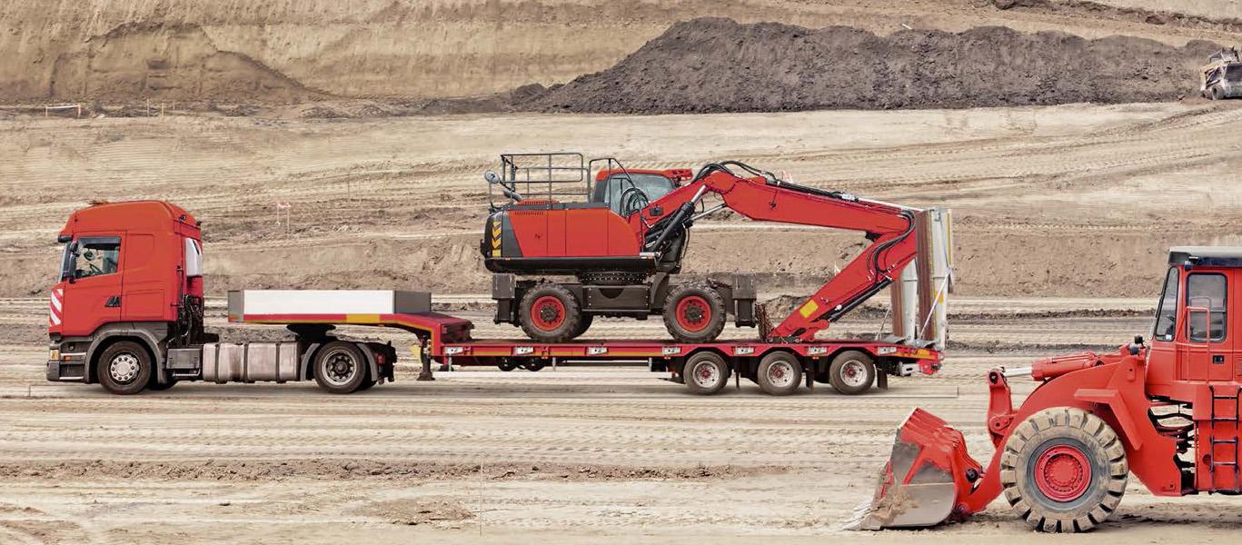 Перевозка Спецтехники тралом, 50 тонн