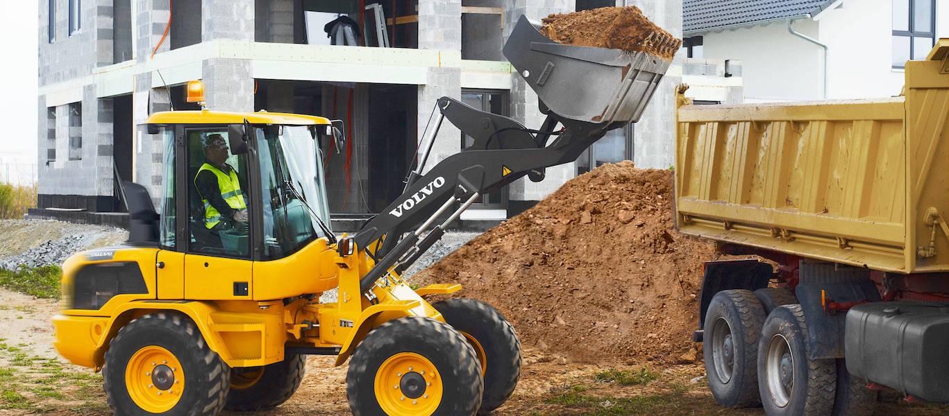 Услуги фронтального погрузчика от 3 до 5 тонн